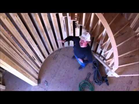 How to Build a Circular Staircase