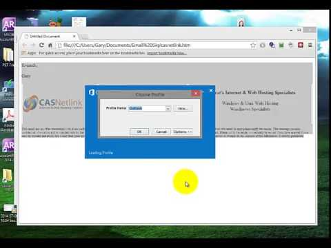 Add HTML Signature To Outlook 2013 - Tutorial