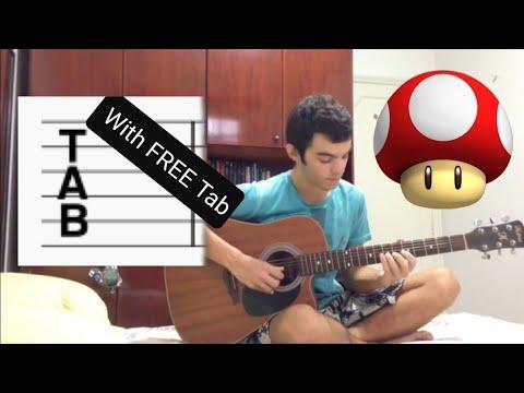 Mario Underwater Theme Tab