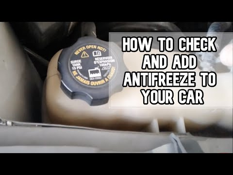 How to check and add antifreeze or coolant to your vehicle DIY video