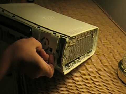 How To Open Up Your Xbox 360 to Get To Your Disc Tray