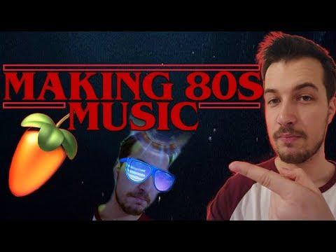 MAKING 80s/Stranger Things STYLE MUSIC - FL Studio Tutorial