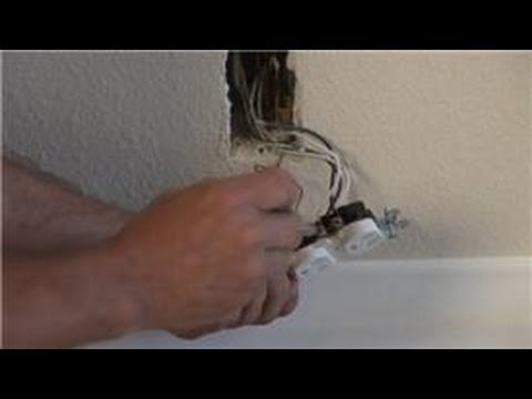 Household Electrical Wiring : How to Replace an Outlet With a Switch