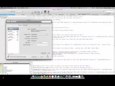 Como Trocar DNS MAC IOS