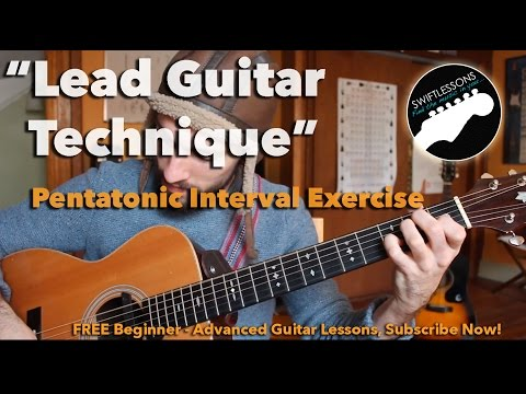 Pentatonic Interval Guitar Exercise - Build Speed, Dexterity & Accurate Picking