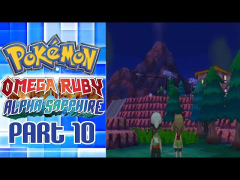Pokemon Omega Ruby & Alpha Sapphire Playthrough Part 10 - Going to Mt. Chimney
