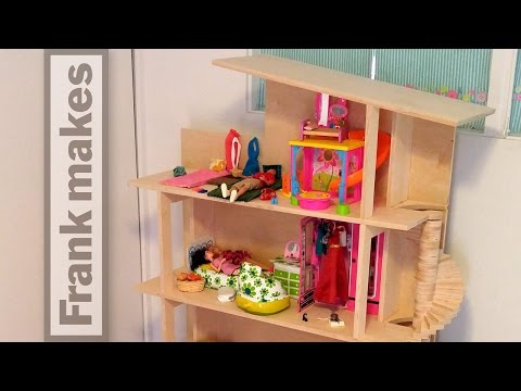 Building a Barbie Dream House
