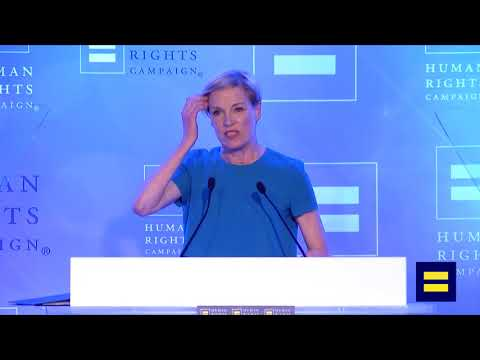 Planned Parenthood's Cecile Richards Speaks at HRC's Equality Convention