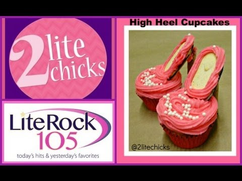 High Heel Cupcakes with 2 Lite Chicks