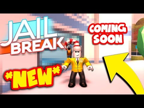 NEW JAILBREAK ROBBERY COMING SOON