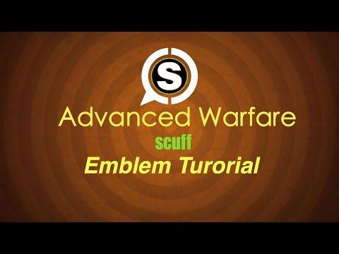 Advanced Warfare Scuff emblem tutorial