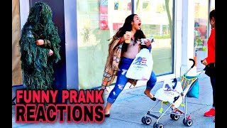 AMAZING Bushman Prank Reactions! | San Francisco