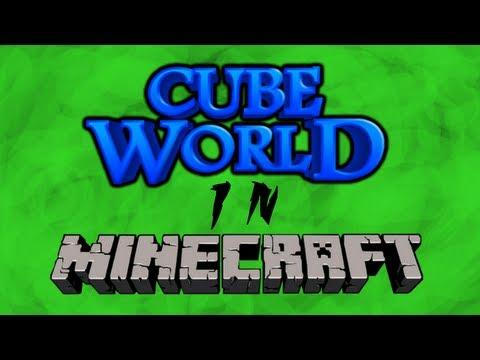 CubeCraft ServerShowoff - Cube World in Minecraft