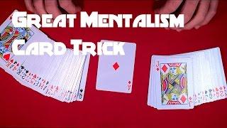 Great Card Trick - Mentalism