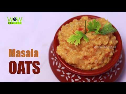 Masala Oats Recipe | Homemade Masala Upma with Oats by WOW Recipes