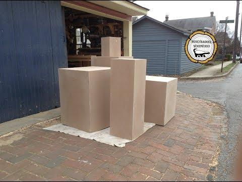 Woodworking : DIY Art Display Pedestal // How-To Part 2