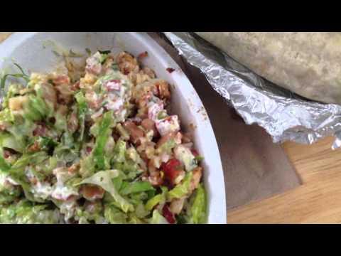 Quick Chipotle Run /  Chicken Bowl & Steak Burito