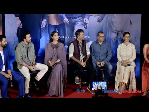 Sanju Official Trailer Launch | Ranbir Kapoor, Raju Hirani & Vidhu Vinod Chopra Answer Questions