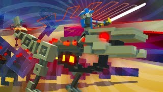 RIDING THE GIANT FIRE BREATHING RAPTORS!!!- Clone Drone in The Danger Zone (Clone Drone Gameplay)