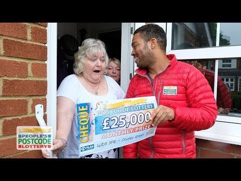 BMW and £25,000 Winners - WD3 3FE in Croxley Green on 05/06/2018 - People's Postcode Lottery
