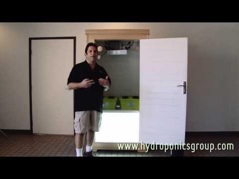 The Budster Grow Box - Hydroponics Group Grow Cabinet