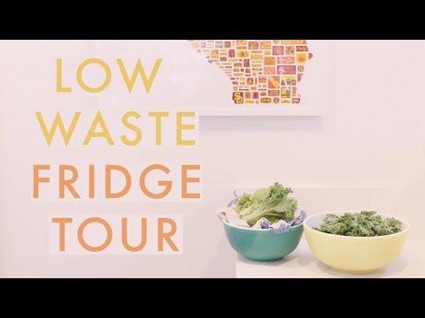 Low Waste Fridge Tour + 5 Plant Based Fridge Essentials | Alli Cherry