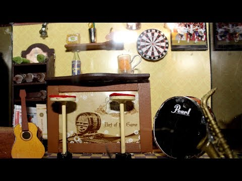 How to Make Cute Music Room DIY Dollhouse Bed Miniature   Flopcloud