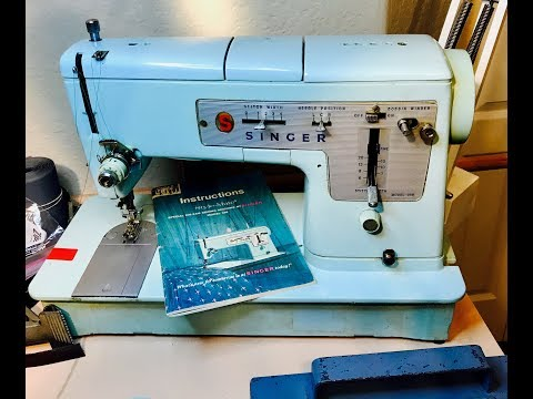 Vintage Sewing Machine Review: Singer 348