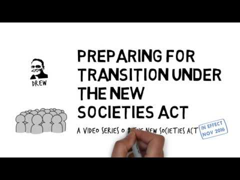 Preparing for transition under BC's new Societies Act