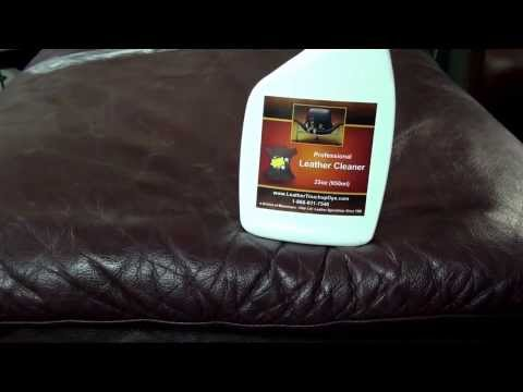 BEST LEATHER CLEANER | Leather Cleaning Kit