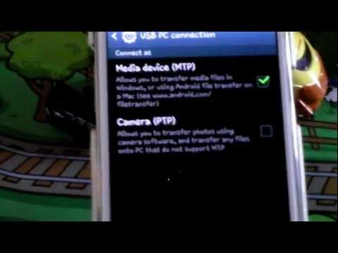 How to transfer photos from your Samsung Galaxy Note II via USB