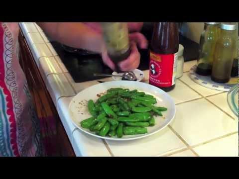 Sugar Snap Peas Stir Fry