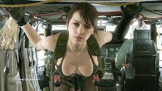 Metal Gear Solid V - Episode 45 - A Quiet Exit (S Rank) Parasite Suit  (Armor)