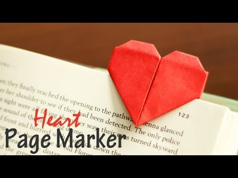 DIY : Heart Page Marker