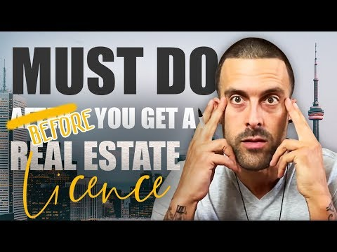 What To Do BEFORE You Get Your Real Estate License!