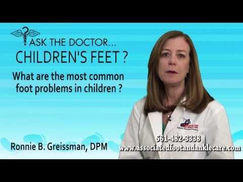 What Are Common Child Foot Problems? Tamarac, Parkland, Delray, FL - Podiatrist Ronnie Greissman