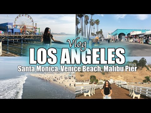 VLOG: LOS ANGELES - MALIBU, VENICE BEACH E SANTA MONICA