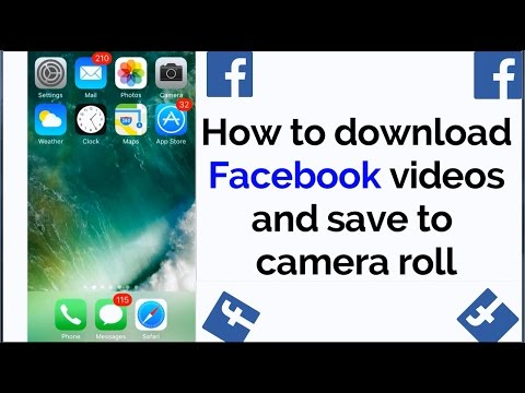 Download Facebook videos and send on WhatsApp iOS