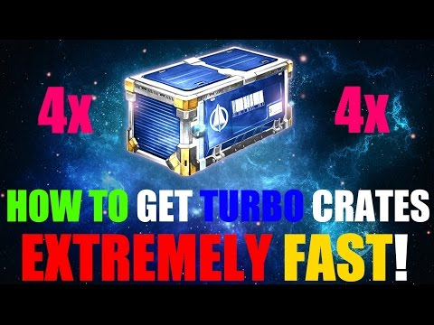 How To Get Turbo Crates Fast! - Rocket League Glitch