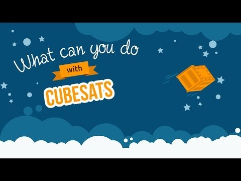 What can you do with a cubesat?
