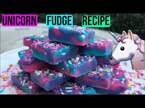 HOW TO MAKE UNICORN FUDGE | Episode 39 Baking With Ryan