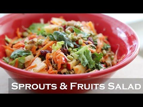 Healthy Weightloss Salad Recipe | Indian Vegetarian Salad Recipes / Easy Weight loss Recipes