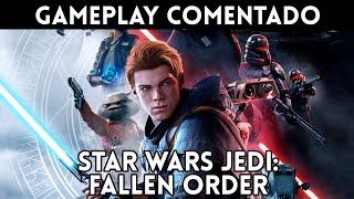 GAMEPLAY STAR WARS JEDI: FALLEN ORDER (Xbox One, PS4, PC) Una GRAN AVENTURA de Star Wars