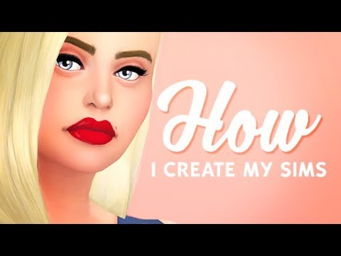 WHAT SKIN/EYES DO I USE? | THE SIMS 4 // HOW I CREATE MY SIMS W/ LINKS!