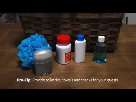 At Home | Hosting at Home! | Guest Room Welcome Kit