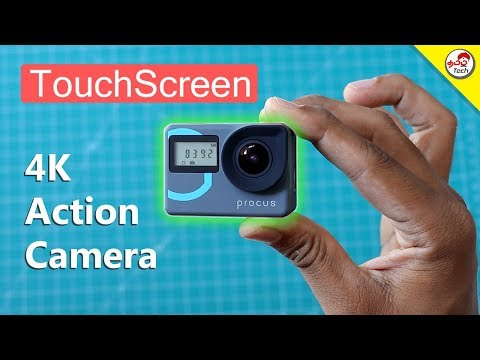 Procus Epic 4K Touchscreen Action Camera Unboxing & Review | Tamil Tech