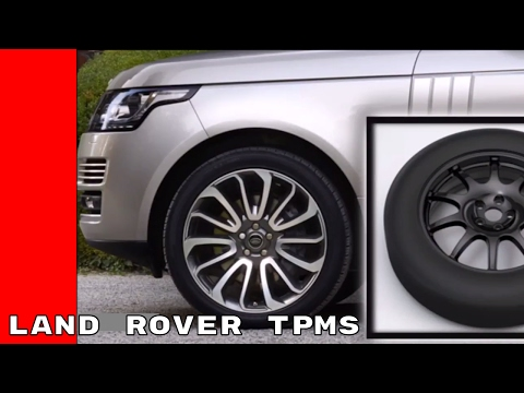 Land Rover Tire Pressure Monitoring System TPMS