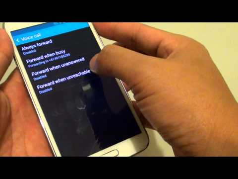 Samsung Galaxy S5: How to Setup Call Forwarding