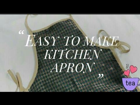 Very easy to sew: Kitchen Apron