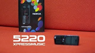 Nokia 5220 Xpressmusic unboxing